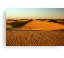 Sand dunes at Namiban coast Canvas Print