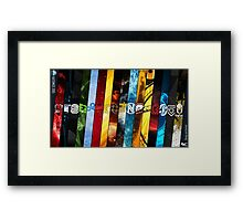 CSGO Teams Design Framed Print