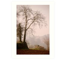 East Devon Rural ...2 Art Print