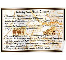 Colesberg in die Anglo-Boereoorlog Poster