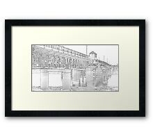 Jubilee Bridge Framed Print