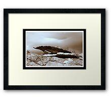 Wyoming Rock Shelter  Framed Print