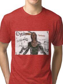Dyslexic Fog 6 Tri-blend T-Shirt
