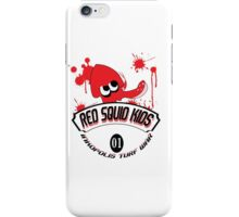 Red Squid Kid's iPhone Case/Skin