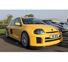 Renault Clio V6 Photographic Print