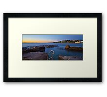 Giles Baths - Coogee NSW Framed Print