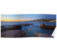 Giles Baths - Coogee NSW Poster