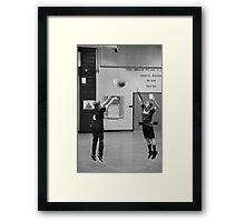 Competition. Framed Print