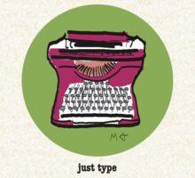 Typewriter by Melissa Gaggiano