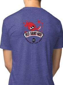 Red Squid Kid's Tri-blend T-Shirt
