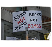 Education over war Poster