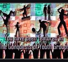 the conquests youth group - banner by vampvamp
