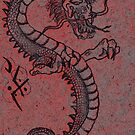 Japanese Dragon by Michelle Morine