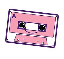 Smiling cassette tape  Photographic Print