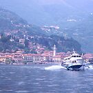 Hydrofoil, Lake Como, Italy. by johnrf