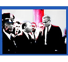MLK and X.... Photographic Print