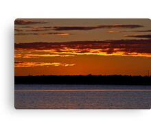 Sunrise Downunder. 25-3-11. Canvas Print