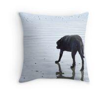 good ol dog Throw Pillow