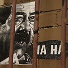 Ha Ha in Hosier Lane, Melbourne, Australia by wolfmarx
