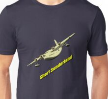 Short Sunderland Flying Boat Unisex T-Shirt