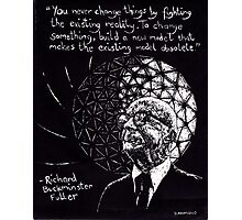 """Richard Buckminster Fuller"" Photographic Print"
