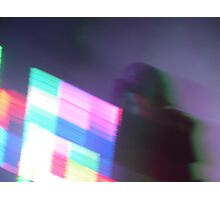 Alice Glass live in concert Photographic Print