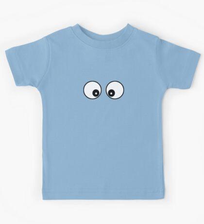 Googly Funny Cartoon Eyes - Toon T-Shirt & Top Kids Tee