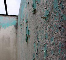 Peeling Wall - Mandeville, Jamaica by Allie Ludvigson