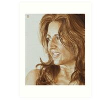Jenelle, afternoon sun Art Print