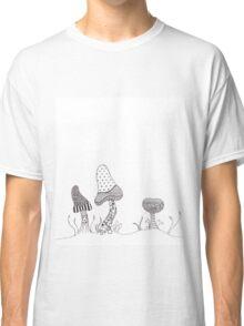 Mushroom Patterns  Classic T-Shirt