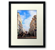 Duke street Framed Print