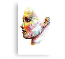 Head Pointed Out Canvas Print