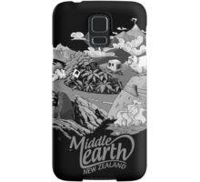 "Middle Earth ""New Zealand"" Samsung Galaxy Case/Skin"