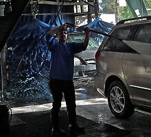 Car Wash, Mtn. View, CA by Scott Johnson