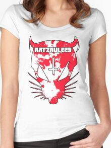 RATZRULE23 Women's Fitted Scoop T-Shirt