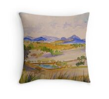 Boonah Panorama From Tunstall Road Throw Pillow