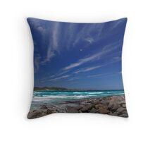 Deep South Ocean Coastline WA East of Peaceful Bay Throw Pillow