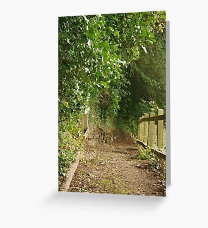 Footpath Greeting Card