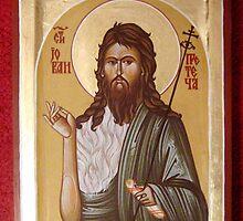 St.John the baptist by Blagojce Petrovski