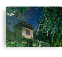 The Summer House Canvas Print