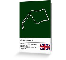 Oulton Park - v2 Greeting Card