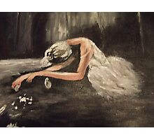 The Dying Swan Photographic Print