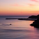 Sunset Albuferia, Portugal by Lynn Bolt