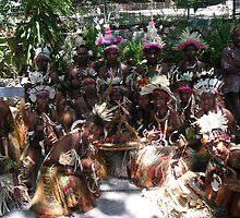 Papua New Guinea Dancing 10 by Ian McKenzie