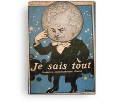 Jules Alexandre Grün Je Sais Tout 2 Canvas Print