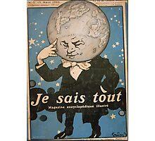 Jules Alexandre Grün Je Sais Tout 2 Photographic Print