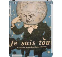Jules Alexandre Grün Je Sais Tout 2 iPad Case/Skin