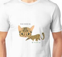 Rusty Spotted Cat Unisex T-Shirt