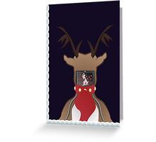 Christmas Card - I Can't Find Britain! Greeting Card