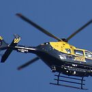 Police Helicopter. by JacquiK